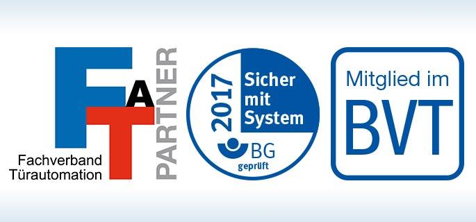 FTA Partner, Sicher mit System, Mitglied im BVT