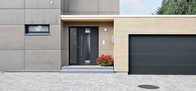 Garagentor mit nebentür  Garagentore mit passenden Nebentüren für Ihr Zuhause
