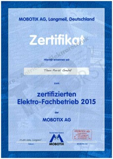 Motobix Zertifikat